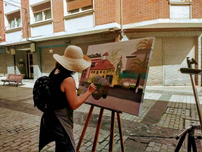 jeny-pintando-santurtzi
