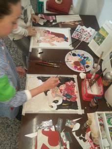 Pintando y añadiendo aplicaciones